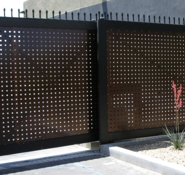 Gate Mfg Gate Automation Commercial Gates Amp Fence Mesa Phx