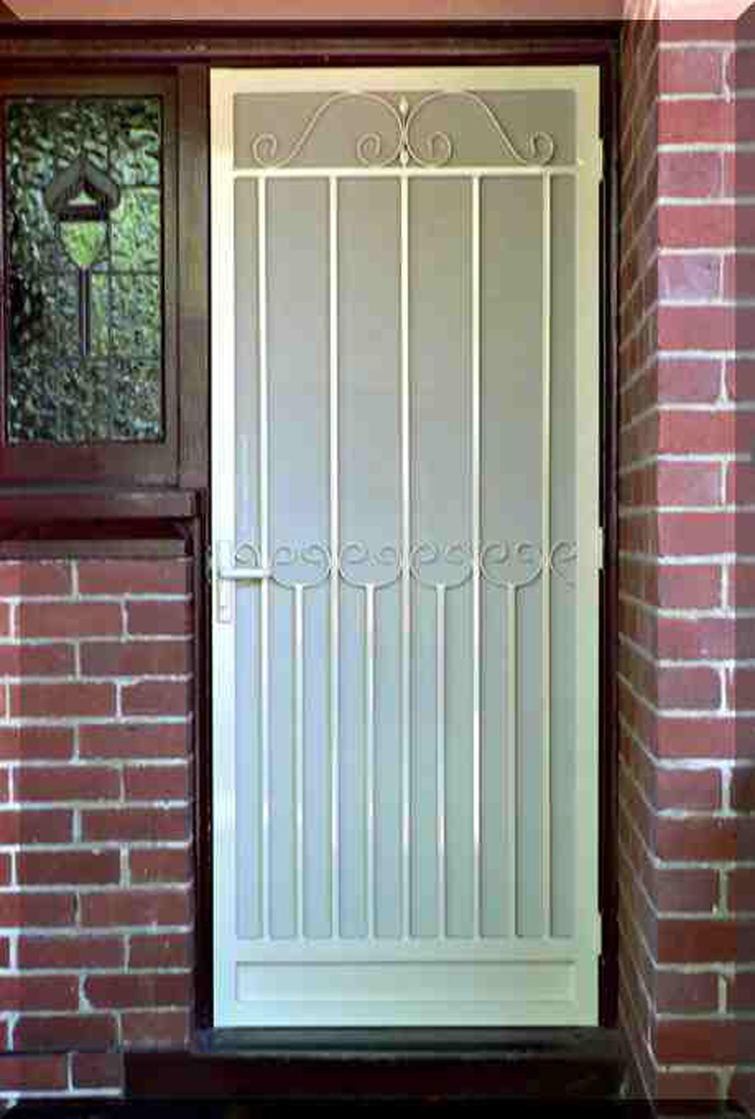 2222 #80504B Security Doors pic Residential Security Doors Exterior 41111500