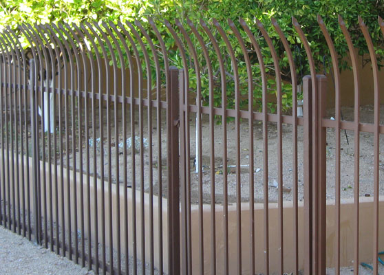 Commercial pool fencing